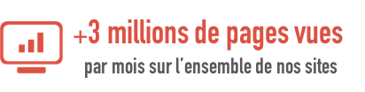 YMA Group - 3 millions de pages vues