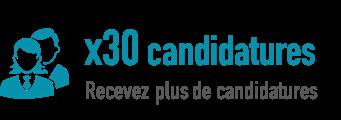 Page Entreprise - 30 fois plus de candidatures